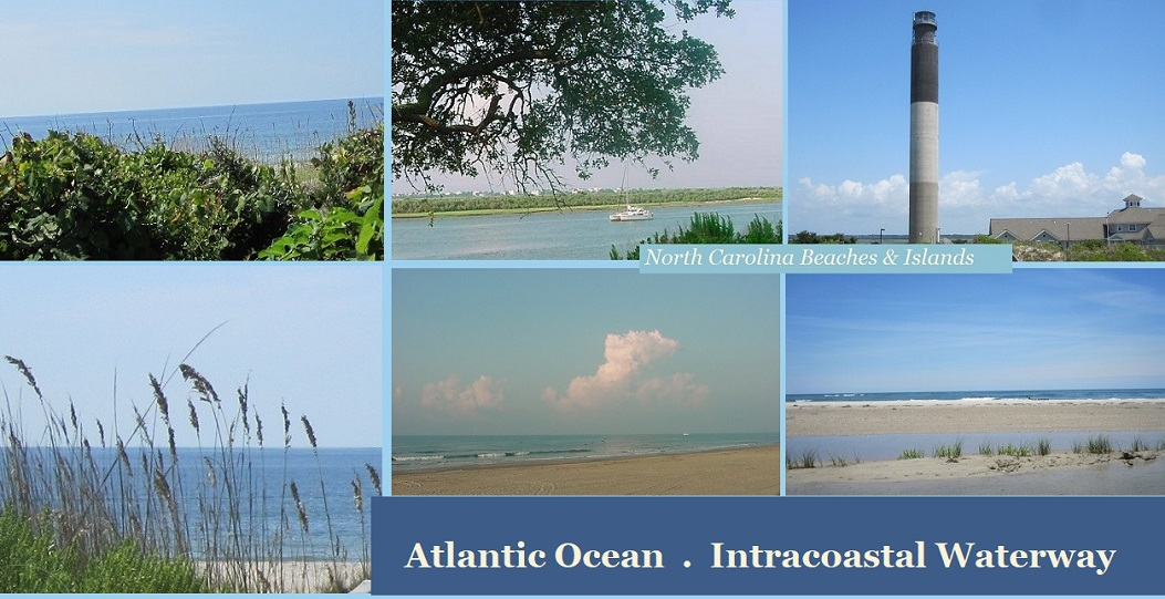 Coastal NC Beaches and Islands